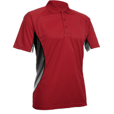 QD31 Multi Tone Dri Fit Polo T Shirts 2018 19 thumbnail red 400x400 - QD31 Multi-Tone Dri-Fit Polo T-Shirts