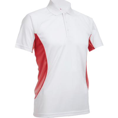 QD31 Multi Tone Dri Fit Polo T Shirts 2018 19 thumbnail white red 400x400 - QD31 Multi-Tone Dri-Fit Polo T-Shirts