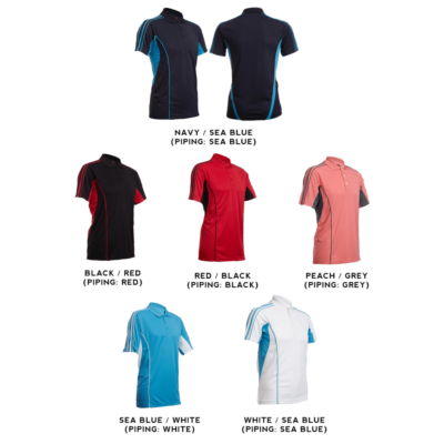 QD33 Multi-Tone Dri-Fit Polo T-Shirts 2018-19 catalogue