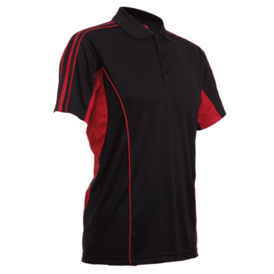 QD33 Multi Tone Dri Fit Polo T Shirts 2018 19 thumbnail black red 400x400 - QD33 Multi-Tone Dri-Fit Polo T-Shirts