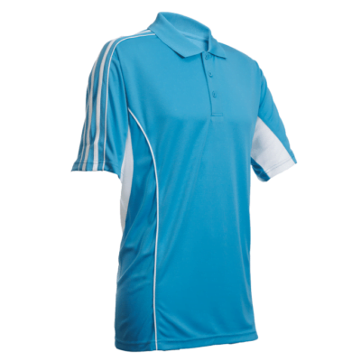 QD33 Multi-Tone Dri-Fit Polo T-Shirts 2018-19 thumbnail seablue