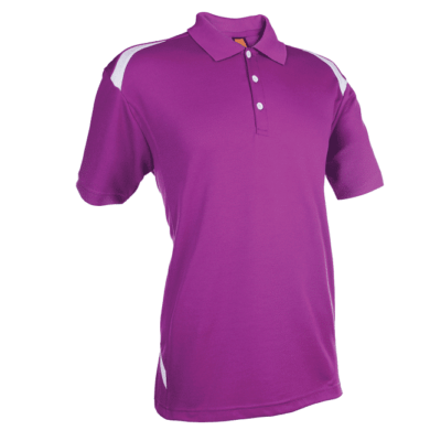 QD34 Multi-Tone Dri-Fit Polo T-Shirts 2018-19 thumbnail purple
