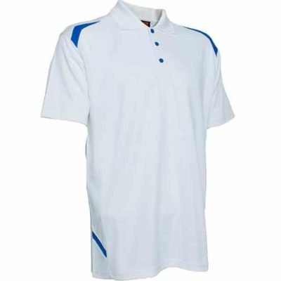 QD34 Multi Tone Dri Fit Polo T Shirts 2018 19 thumbnail white 400x400 - QD34 Multi-Tone Dri-Fit Polo T-Shirts