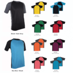 QD36 Raglan Dri-Fit T-Shirts 2018-19 catalogue