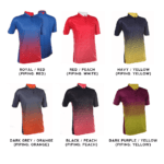 QD37 Multi-Tone Dri-Fit Polo T-Shirts 2018-19 catalogue