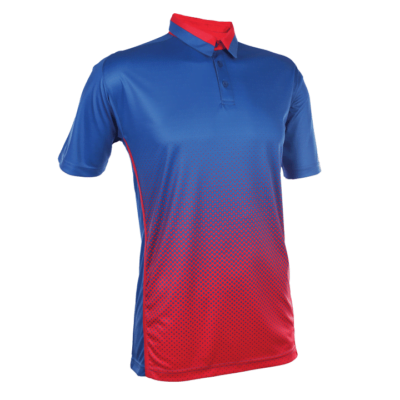 QD37 Multi Tone Dri Fit Polo T Shirts 2018 19 thumbnail royal red 400x400 - QD37 Multi-Tone Dri-Fit Polo T-Shirts
