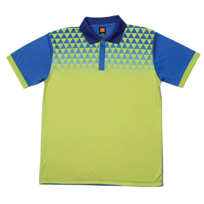 QD44 Multi-Tone Dri-Fit Polo T-Shirts 2018-19 thumbnail lime green
