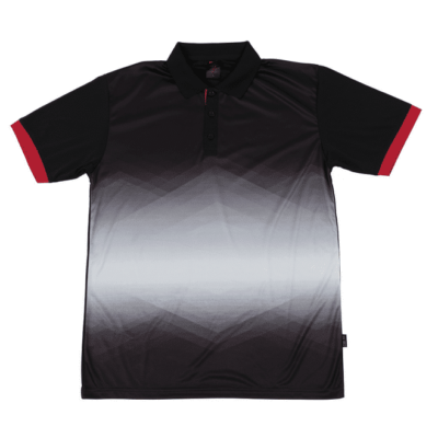 QD45 Multi-Tone Dri-Fit Polo T-Shirts 2018-19 thumbnail black