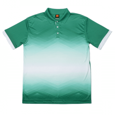 QD45 Multi-Tone Dri-Fit Polo T-Shirts 2018-19 thumbnail milo green
