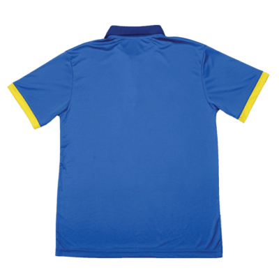 QD45 Multi-Tone Dri-Fit Polo T-Shirts 2018-19 thumbnail royal back