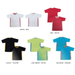 QD46 Multi-tone dri-fit t-shirts 2018-19 catalogue