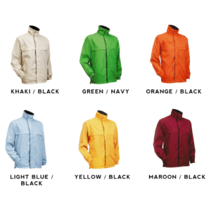 Reversible Windbreaker WR01 2018-19 catalogue