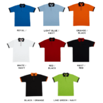 SJ01 Multi-Tone Cotton Polo T-Shirts 2018-19 catalogue