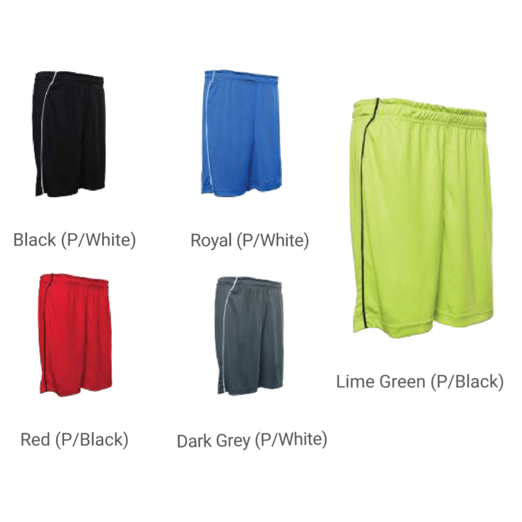 Dri-fit shorts for Team Jersey