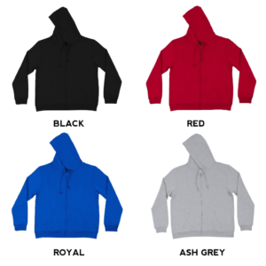SS10 Basic Zipped Hoodies 2018-19 catalogue