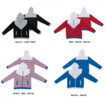 SS11 Patterned Zipped Hoodies 2018-19 catalogue