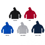 SS12 Polyester Zipped Hoodies 2018-19 catalogue
