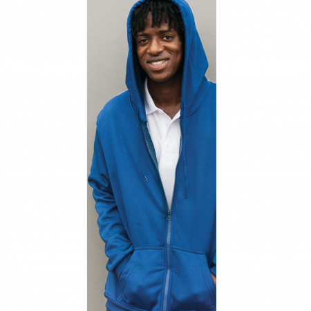 SS12 Polyester Zipped Hoodies 2018-19 models 1
