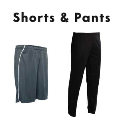 Shorts and pants catalogue