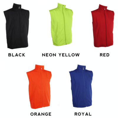 VJ06 Vest Windbreaker 2018-19 catalogue