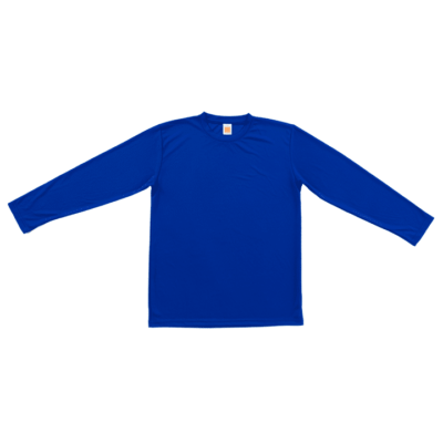 Basic Dri-Fit Long-Sleeve T-Shirts 2018-19 thumbnail royal
