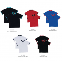HC20 Multi-Tone Cotton Polo T-Shirts 2018-19 catalogue