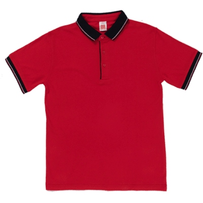 HC20 Multi-Tone Cotton Polo T-Shirts 2018-19 thumbnail red
