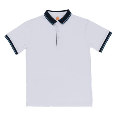 HC20 Multi-Tone Cotton Polo T-Shirts 2018-19 thumbnail white