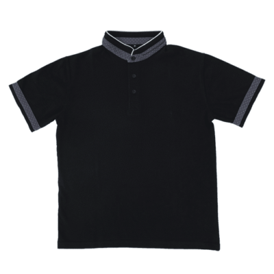 HC21 Multi-Tone Cotton Polo T-Shirts 2018-19 thumbnail black