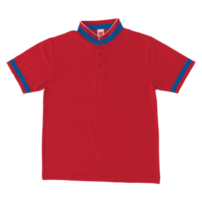 HC21 Multi-Tone Cotton Polo T-Shirts 2018-19 thumbnail red