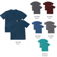 QD50 Interlock Mesh Dri-Fit T-Shirts 2018-19 catalogue