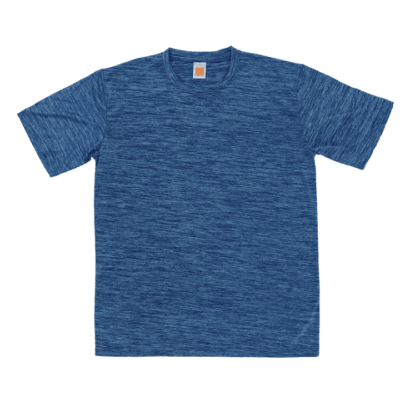 QD50 Interlock Mesh Dri-Fit T-Shirts 2018-19 thumbnail royal