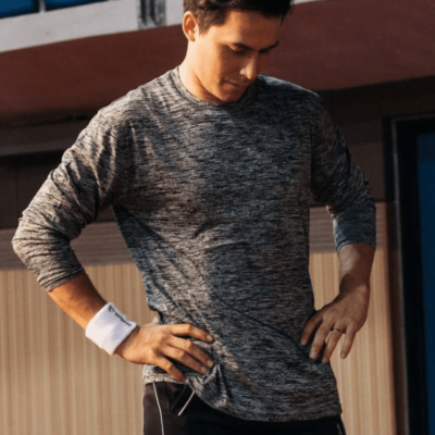 QD51 Interlock Mesh Long-Sleeve Dri-Fit T-Shirts 2018-19 model 1