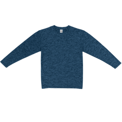 QD51 Interlock Mesh Long-Sleeve Dri-Fit T-Shirts 2018-19 thumbnail navy