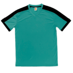 QD52 Multi Tone Dri Fit V Neck T Shirts 2018 19 thumbnail emerald front 150x150 - QD52 Multi-Tone Dri-Fit V-Neck T-Shirts