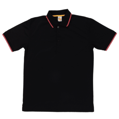 QD53 Multi-Tone Dri-Fit Polo T-Shirts 2018-19 thumbnail black