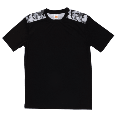 QD55 Multi-tone Camo Dri-Fit T-Shirts 2018-19 thumbnail black