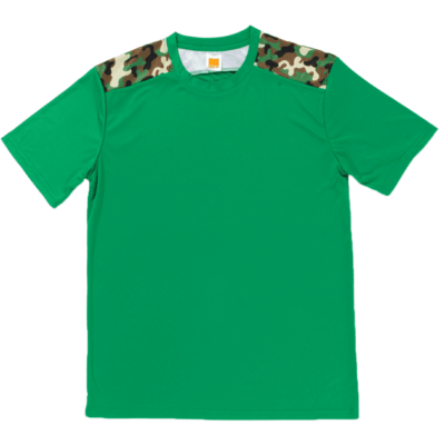 QD55 Multi-tone Camo Dri-Fit T-Shirts 2018-19 thumbnail green