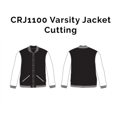 CRJ1100 Varsity Jacket 2018-19 cutting
