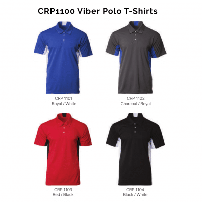 CRP1100 Viber Polo T-Shirts 2018-19 catalogue