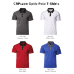 CRP1200 Optic Polo T-Shirts 2018-19 catalogue
