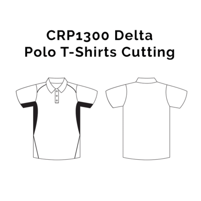 CRP1300 Delta Polo T-Shirts 2018-19 cutting