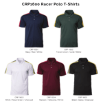 CRP1600 Racer Polo T Shirts 2018 19 catalogue 150x150 - CRP1600 Racer Polo T-Shirts