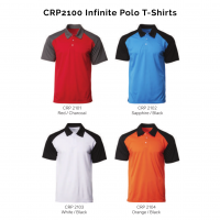 CRP2100 Infinite Polo T-Shirts 2018-19 catalogue