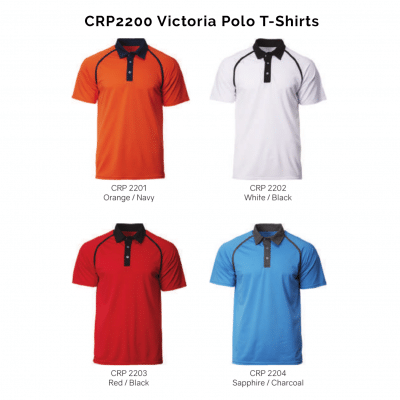 CRP2200 Victoria Polo T-Shirts 2018-19 catalogue