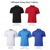 CRP2300 Oxley Polo T-Shirts 2018-19 catalogue