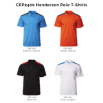CRP2400 Henderson Polo T-Shirts 2018-19 catalogue