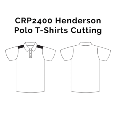 CRP2400 Henderson Polo T-Shirts 2018-19 cutting