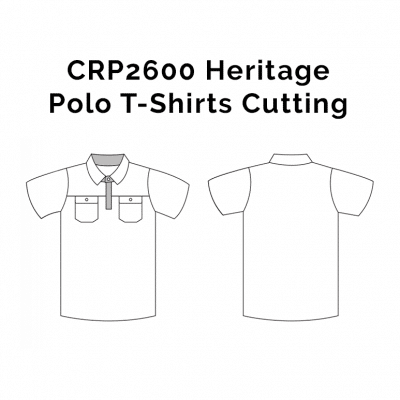 CRP2600 Heritage Polo T-Shirts 2018-19 cutting