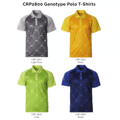 CRP2800 Genotype Polo T-Shirts 2018-19 catalogue